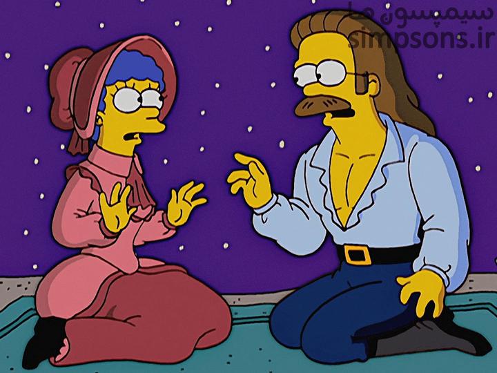 سیمپسون ها - فصل ۱۵ - قسمت ۱۰: زخم زبان یک همسر عصبانی