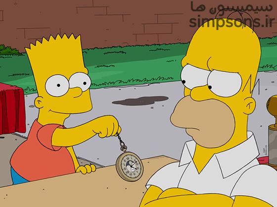 سیمپسون ها - فصل ۲۸ - قسمت ۱۸: ساعت یک پدر