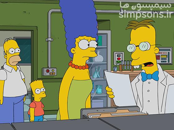 سیمپسون ها - فصل ۲۹ - قسمت ۱۱: فرینک آزمونی میشه