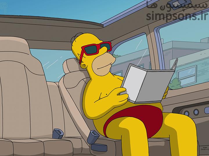سیمپسون ها - فصل 30 - قسمت 5: عزیزم تو نمیتونی ماشین من رو برونی
