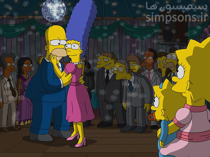 سایت فارسی سیمپسون ها - فصل ۳۰ - قسمت ۱۳: دارم تا جایی که میتونم چاق میرقصم