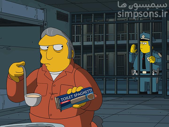 سایت فارسی سیمپسون ها - فصل ۳۱ - قسمت ۳: خط آبی چاق