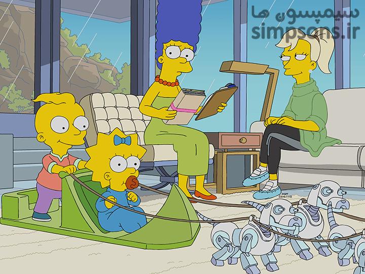 سایت فارسی سیمپسون ها - فصل ۳۱ - قسمت ۱۸: سبکی باورنکردنی کودک بودن