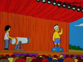 هومر در جشنواره موسیقی