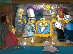 داستان های کریسمس سیمپسون ها