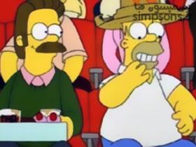 هومر عاشق فلندرز میشود